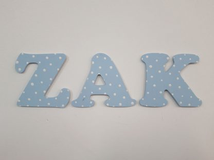 Wooden Wall Letters