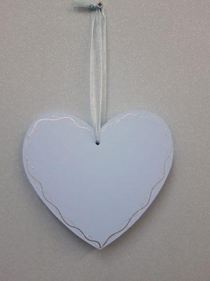 Heart Plaque Blue